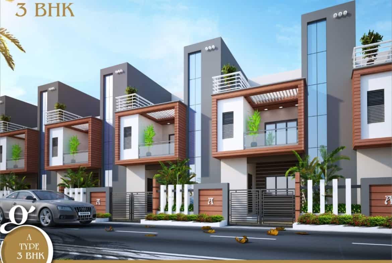 3bhk row house in nagpur