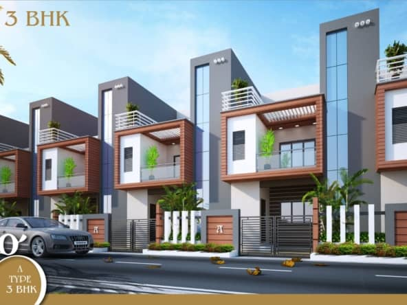 3bhk row house in nagpur