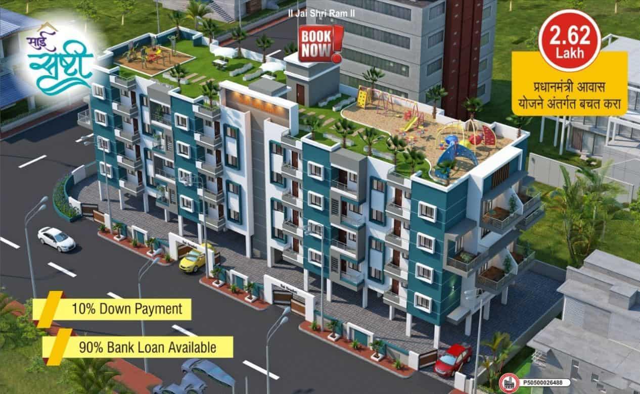 2bhk flat in jaitala sai srushti apartment