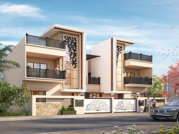 3 bhk row house in koradi road nagpur