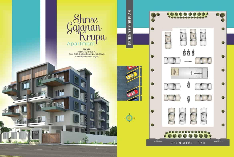 2 bhk flat in Manewada Nagpur
