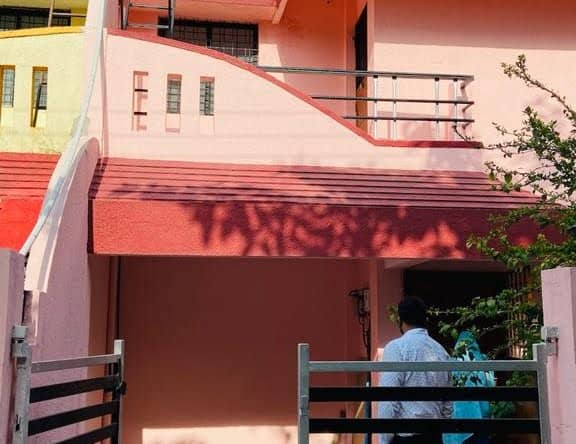 Front View 3BHK Row House